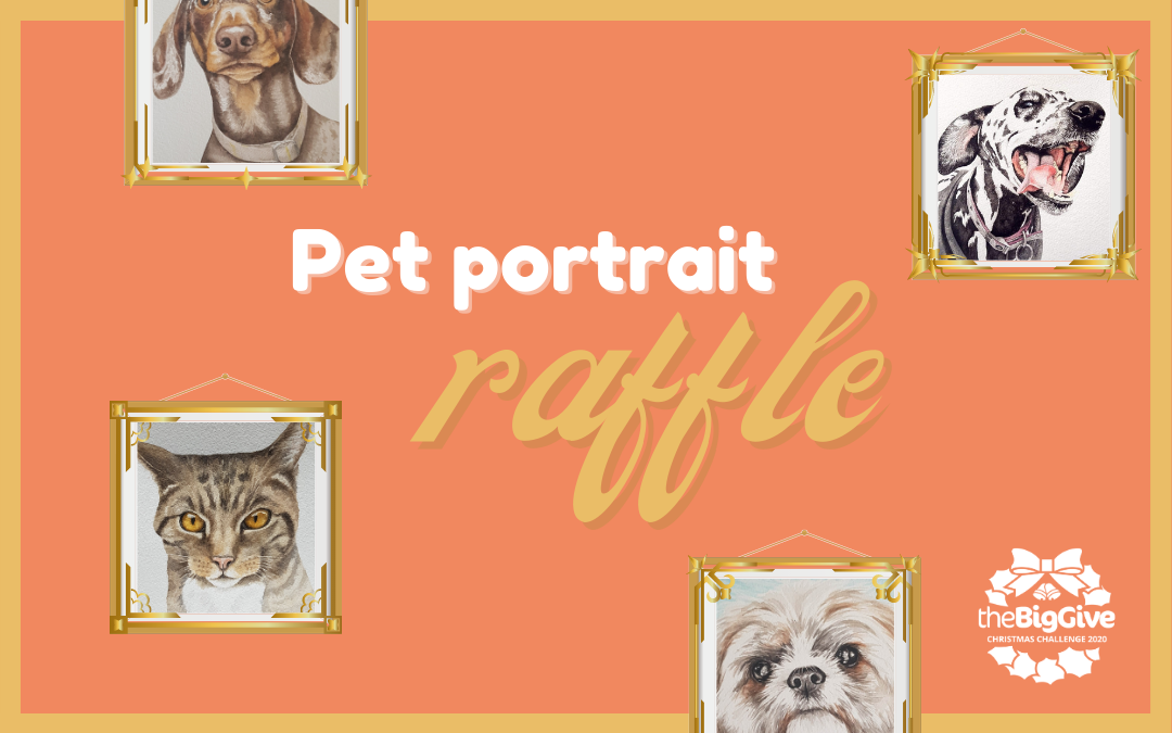 Pet Portrait Christmas Raffle