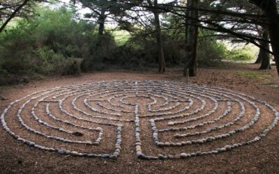Wellbeing Nature Labyrinths