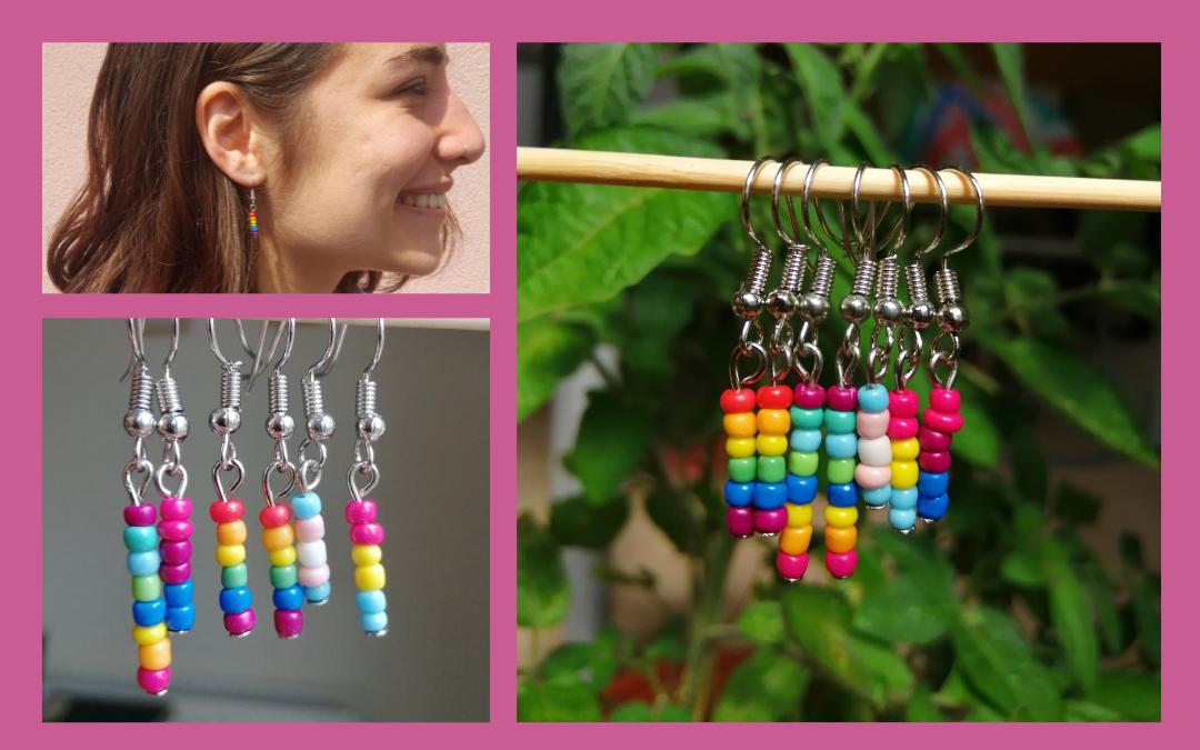 Design your own Pride Earrings