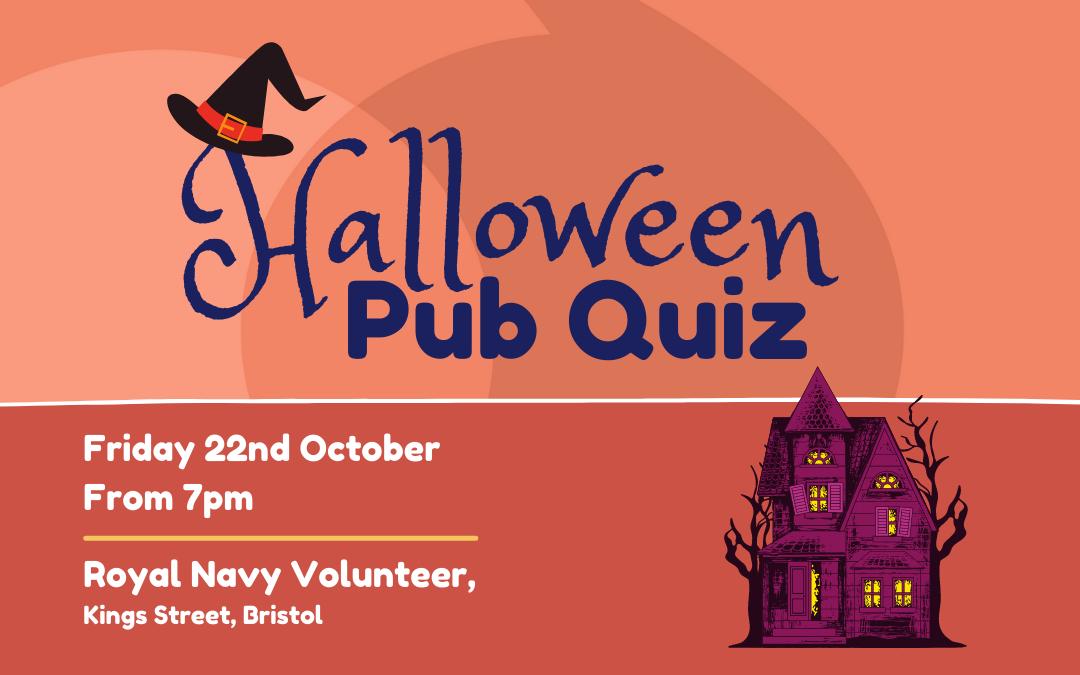 Join us: Halloween Pub Quiz